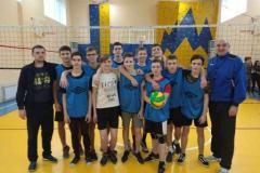 Відбіркові змагання з волейболу серед юнаків